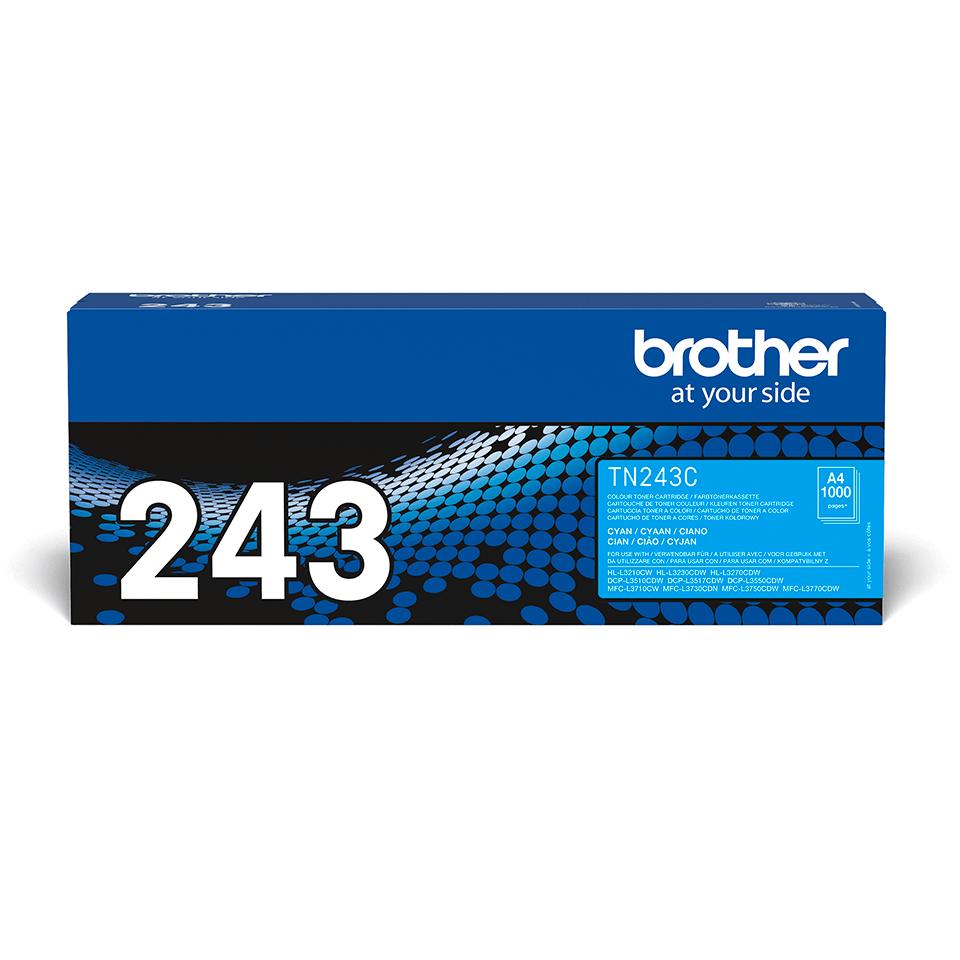 Oriģināla Brother TN-243C tonera kasetne - Ciāna