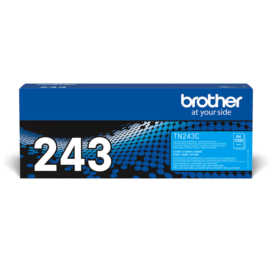 Oriģināla Brother TN-243C tonera kasetne - Ciāna 2