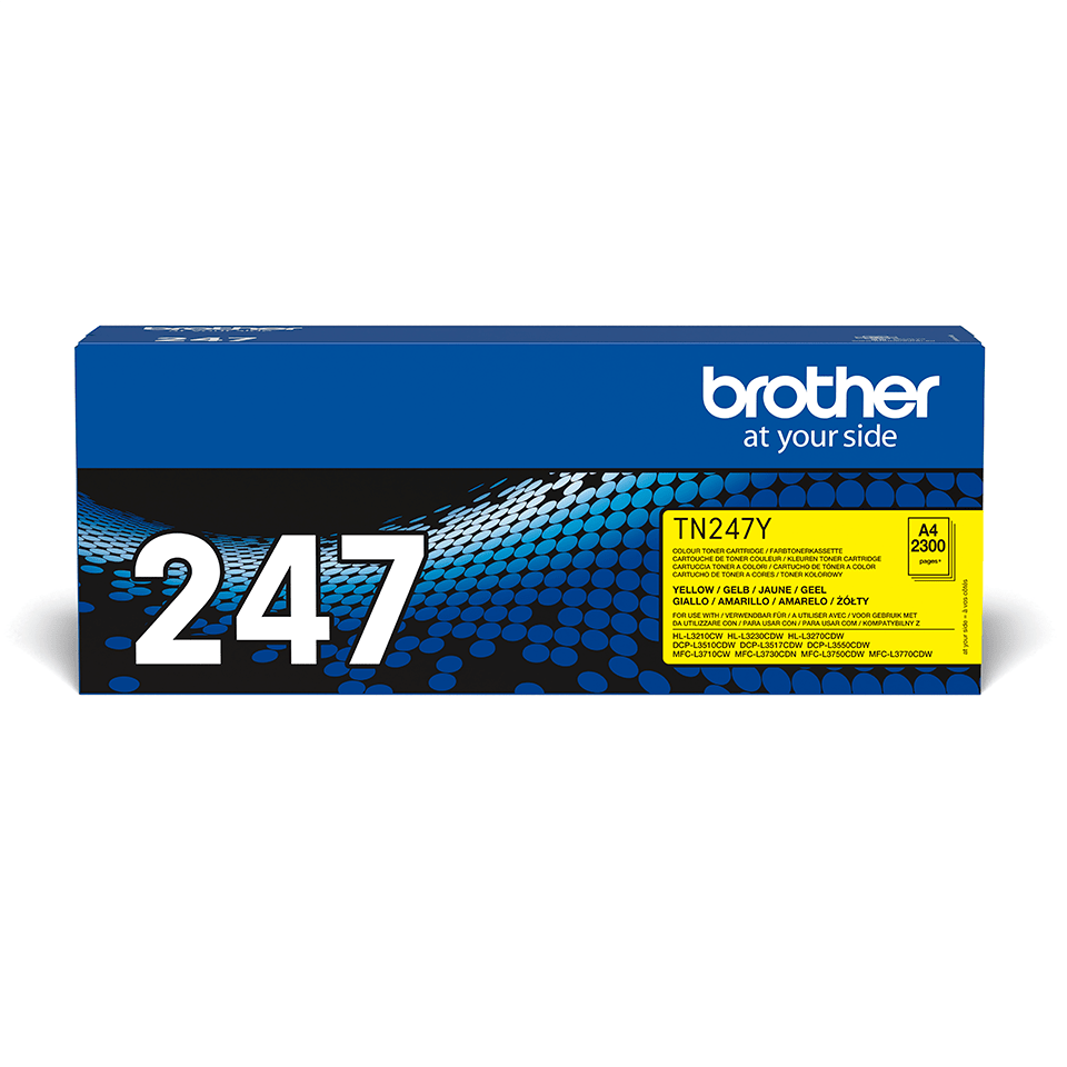 Oriģināla Brother TN-247Y tonera kasetne - dzeltena