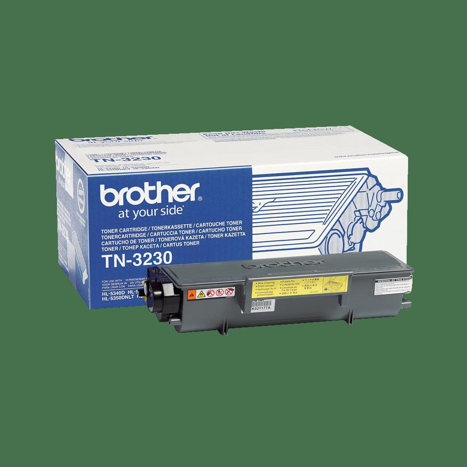 Oriģināla Brother TN3230 tonera kasetne - melna