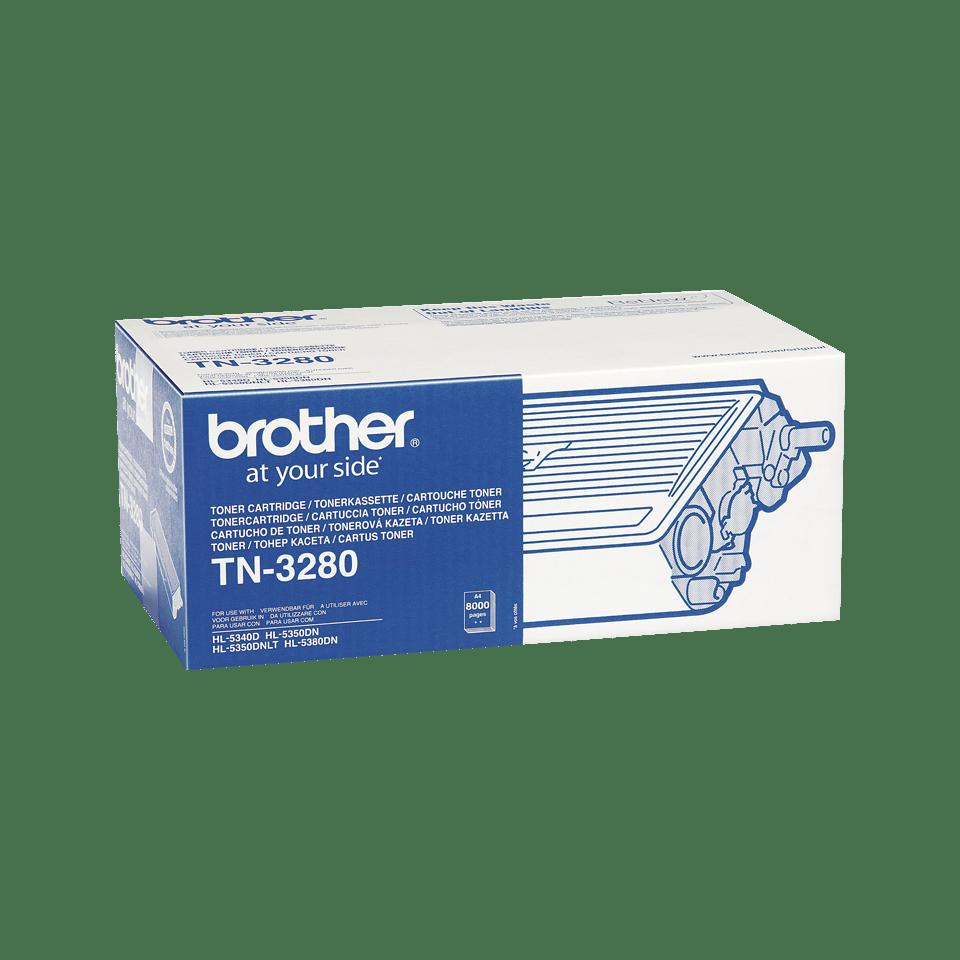 Oriģināla Brother TN-3280 augsta ražīguma tonera kasetne  – melna  2
