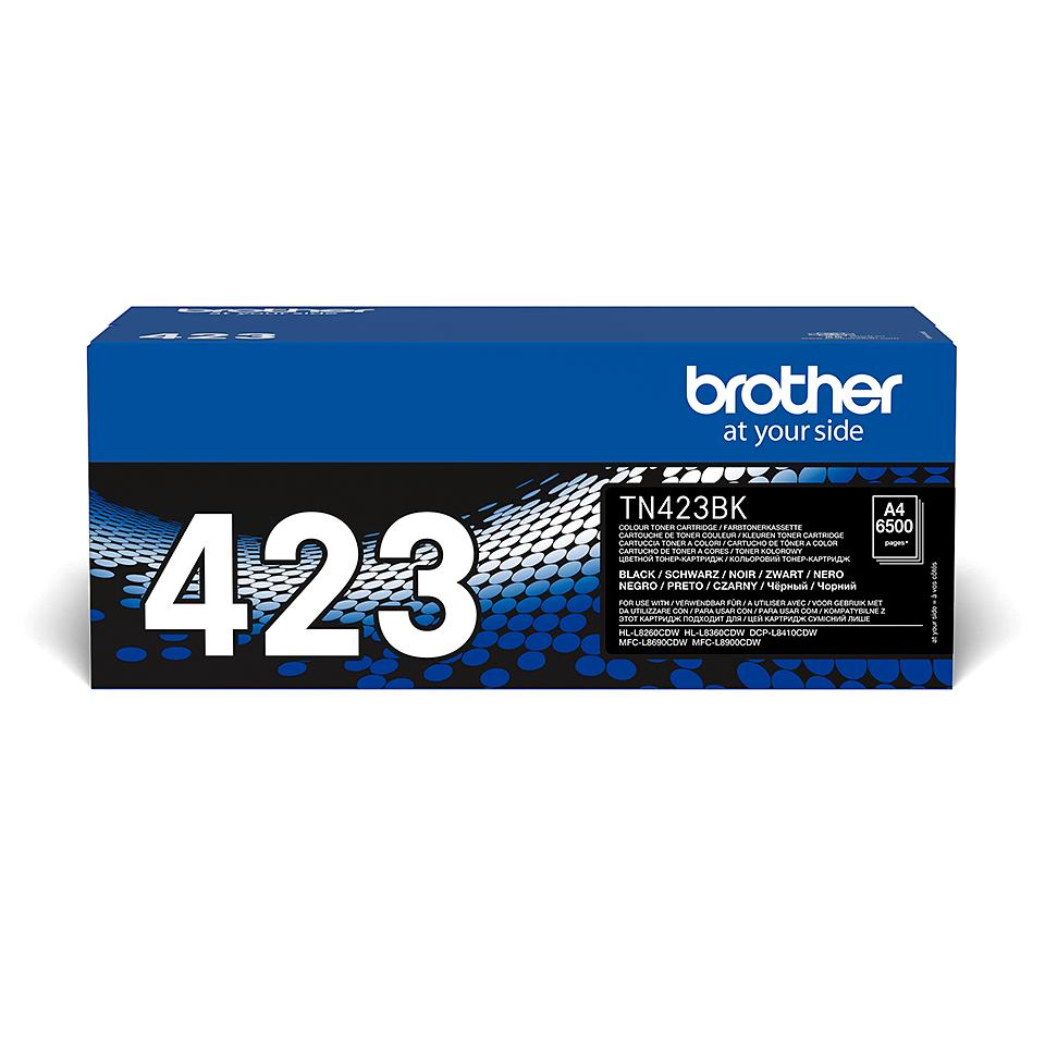 Oriģināla Brother TN423BK tonera kasetne - melna