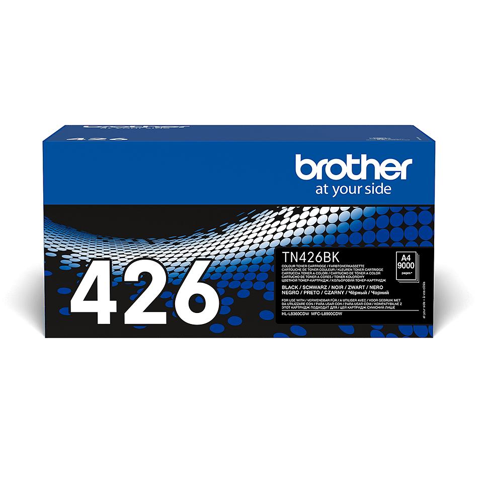 Oriģināla Brother TN426BK tonera kasetne - melna
