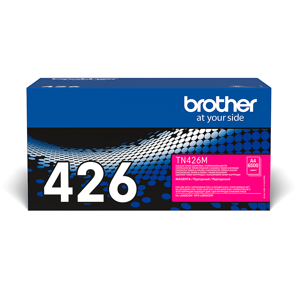 Oriģināla Brother TN426M tonera kasetne - fuksīna