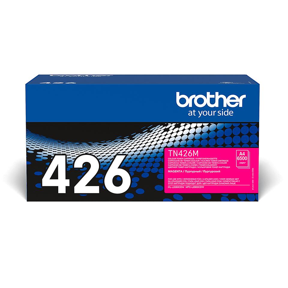 Oriģināla Brother TN426M tonera kasetne - fuksīna 2