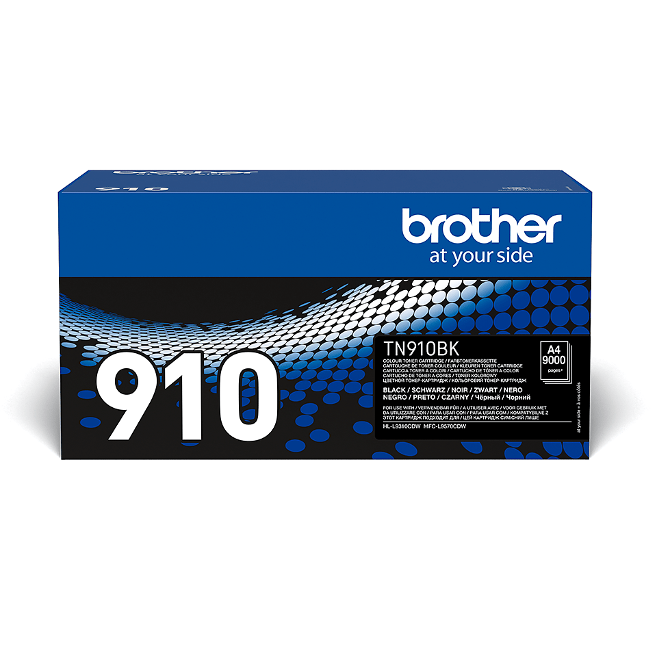 Brother TN-910BK tonera kasetne - melna