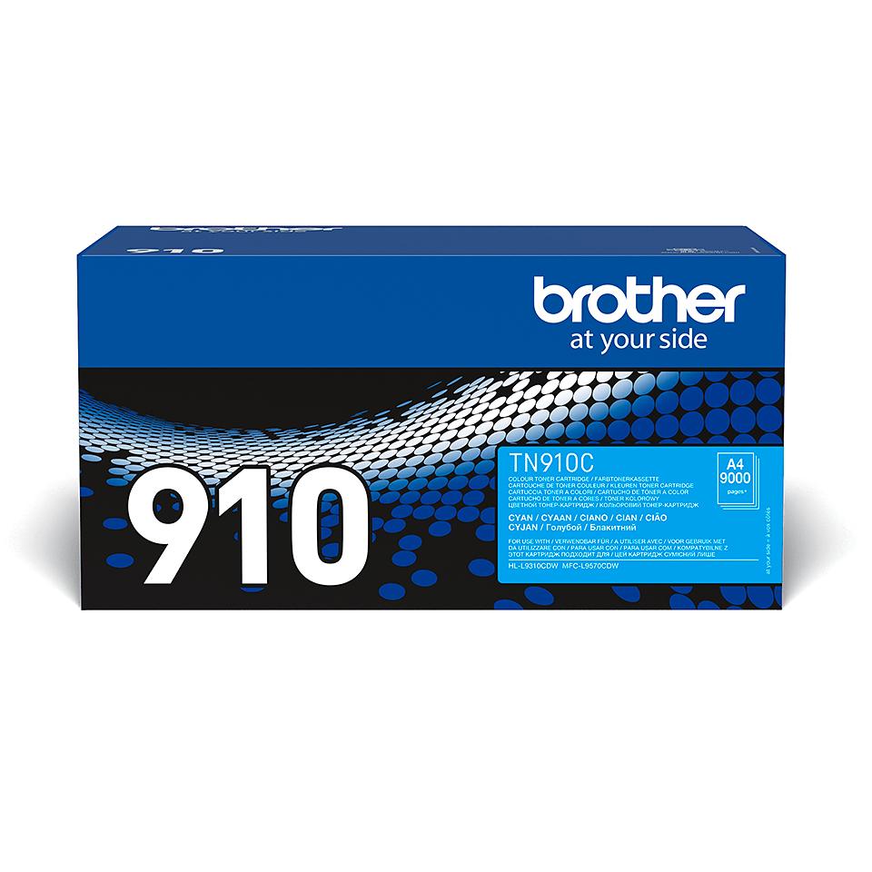 Brother TN-910C tonera kasetne - ciāna
