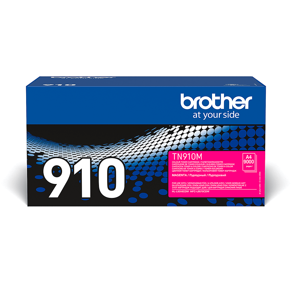 Genuine Brother TN-910M Toner Cartridge – Magenta
