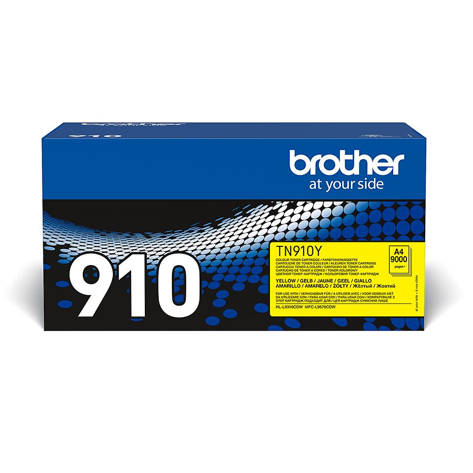 Brother TN-910Y tonera kasetne - dzeltena
