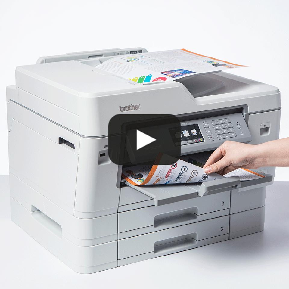 MFC-J6947DW krāsu A3 tintes 4-in-1 printeris ar bezvadu tīkla savienojumu 7