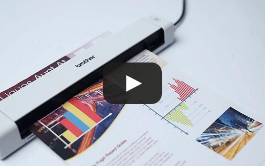 Brother DSmobile DS-640 portatīvais dokumentu skeneris 6